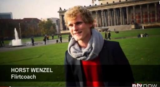 Flirtcoach im TV Horst Wenzel bei NTV