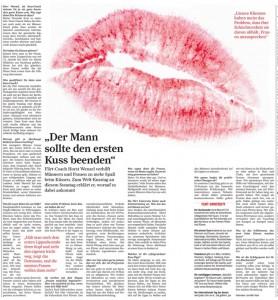 Philematologie - der Welt Tag des Kusses