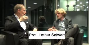 professor lothar seiwert foto mit horst Wenzel