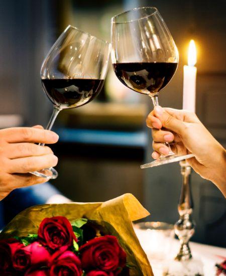 Du willst sie bei einem romantischen Candle Light Dinner verzaubern