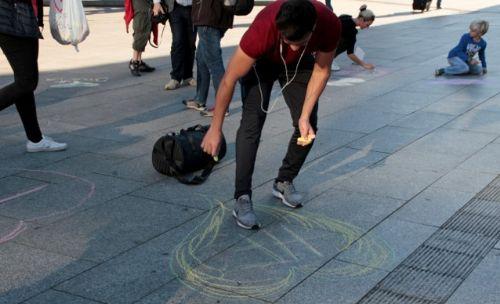 Ein Herz für Köln der Flashmob am Welttourismustag