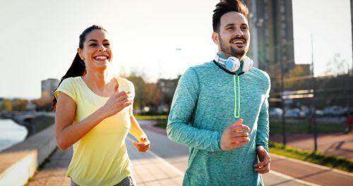 Gemeinsam Sport als Pärchen treiben
