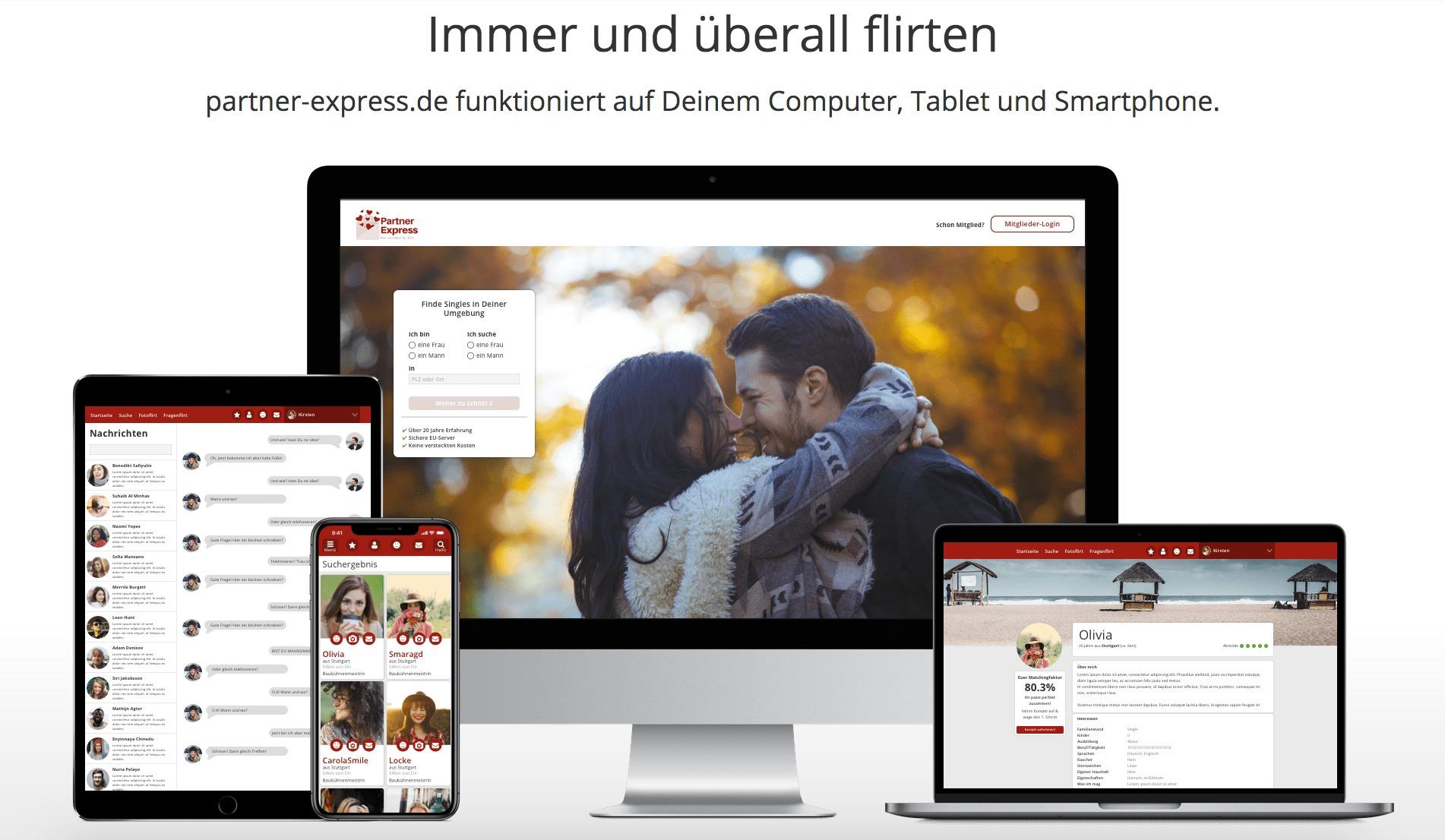 Kostenlose und Kostenfreie Partnerboerse zur Partnersuche als Alternative zu Badoo und Tinder