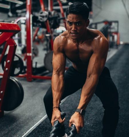 Muskelaufbau als Mann