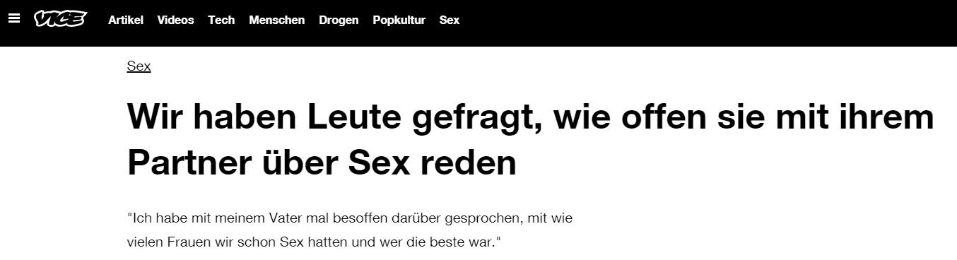 Vice Sex