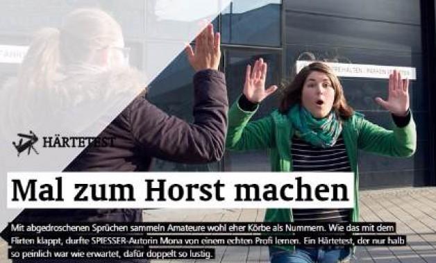 Berliner Härtetest-Journalistin beim Flirtcoaching erfolgreich