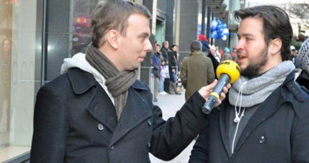 Manuel Picón González beim Flirttest von Radio Hamburg