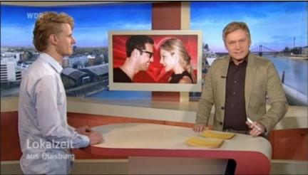Flirtuniversity Dozent Horst Wenzel im WDR Interview