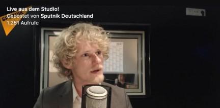 Bundestagswahl 2017: Horst Wenzel im Studio-Gespräch bei SputnikNews Deutschland