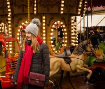 flirten auf dem weihnachtsmarkt