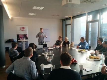 Blogger Horst Wenzel als Keynote Speaker in Deutschland
