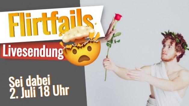 Flirt University Livesendung: Jeden Donnerstag 18 Uhr auf YouTube